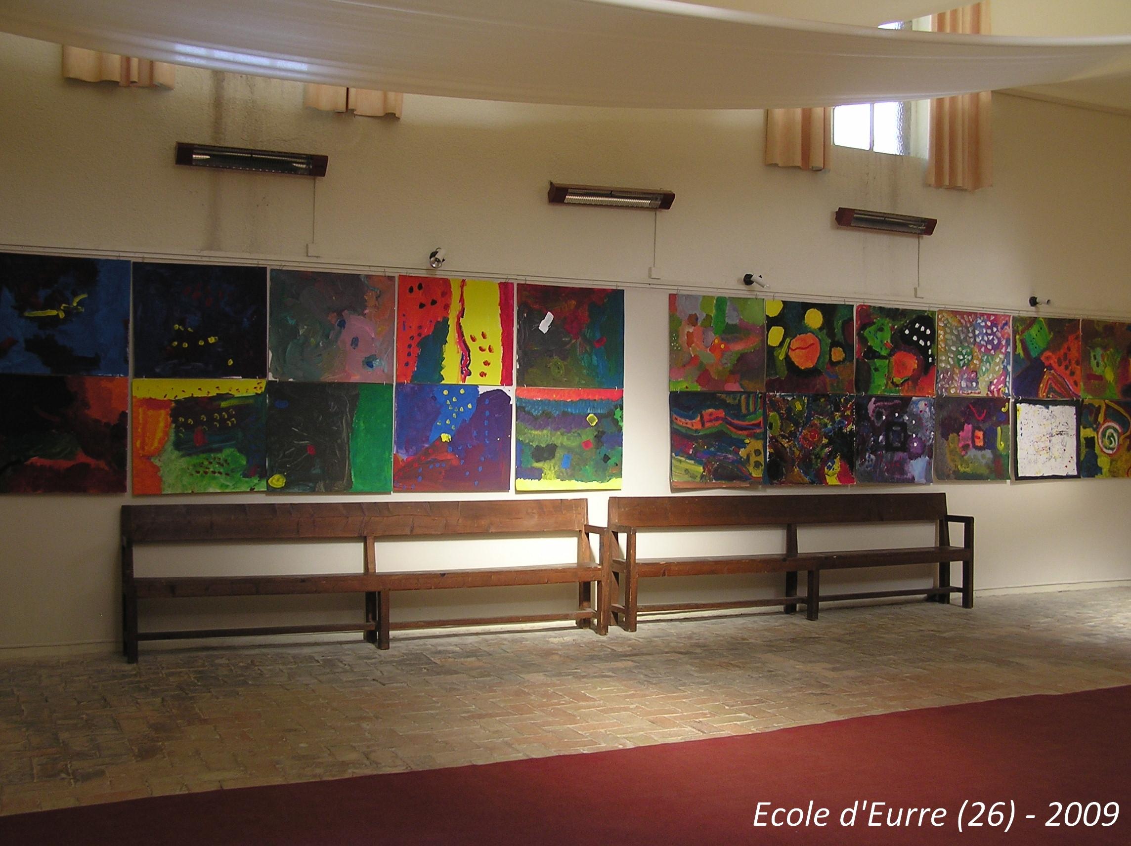 école d'Eurre -2009