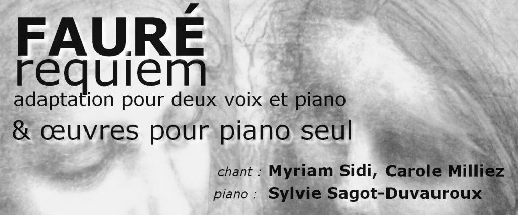 Fauré piano 2 voix